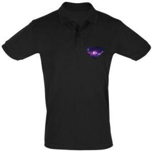 Men's Polo shirt Cosmic crystal