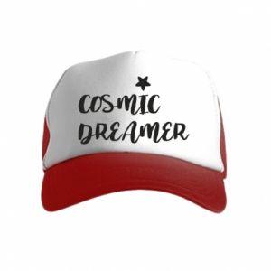Czapka trucker dziecięca Cosmic dreamer