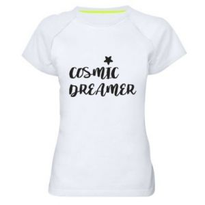 Koszulka sportowa damska Cosmic dreamer