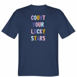 T-shirt Count your lucky stars