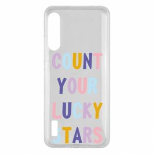 Xiaomi Mi A3 Case Count your lucky stars