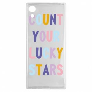 Sony Xperia XA1 Case Count your lucky stars