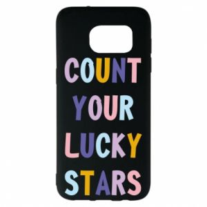 Samsung S7 EDGE Case Count your lucky stars