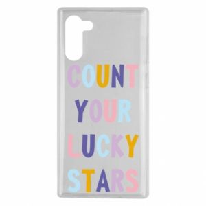 Samsung Note 10 Case Count your lucky stars