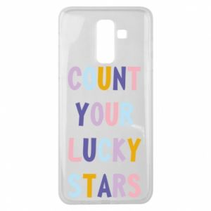 Samsung J8 2018 Case Count your lucky stars