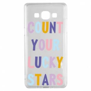 Samsung A5 2015 Case Count your lucky stars