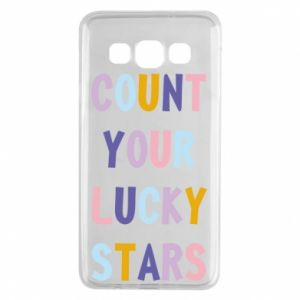Samsung A3 2015 Case Count your lucky stars