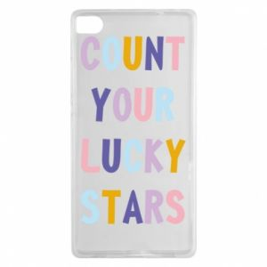 Huawei P8 Case Count your lucky stars