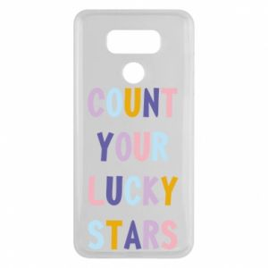 LG G6 Case Count your lucky stars