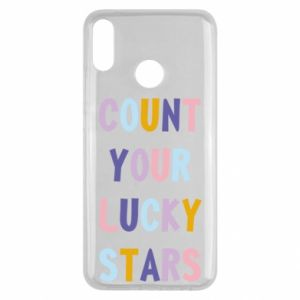 Huawei Y9 2019 Case Count your lucky stars