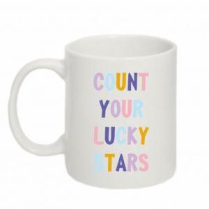 Mug 330ml Count your lucky stars