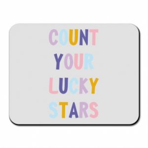 Mouse pad Count your lucky stars