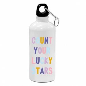 Water bottle Count your lucky stars