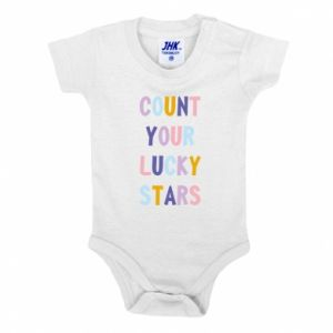 Baby bodysuit Count your lucky stars