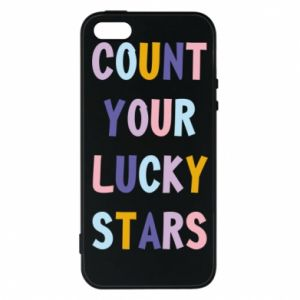 iPhone 5/5S/SE Case Count your lucky stars