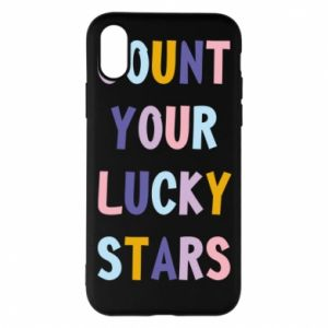 iPhone X/Xs Case Count your lucky stars