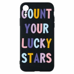 iPhone XR Case Count your lucky stars