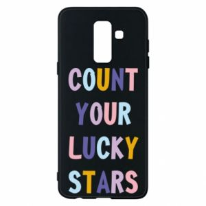 Samsung A6+ 2018 Case Count your lucky stars