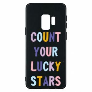 Samsung S9 Case Count your lucky stars