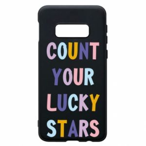 Samsung S10e Case Count your lucky stars
