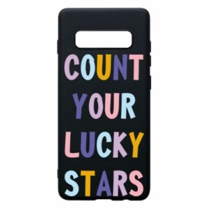 Samsung S10+ Case Count your lucky stars