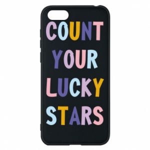 Huawei Y5 2018 Case Count your lucky stars