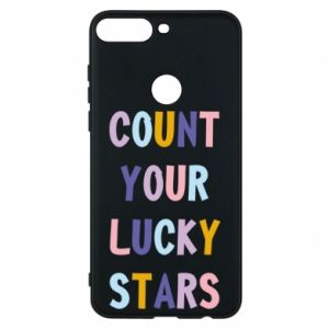 Huawei Y7 Prime 2018 Case Count your lucky stars