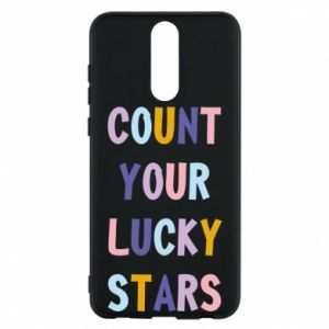 Huawei Mate 10 Lite Case Count your lucky stars
