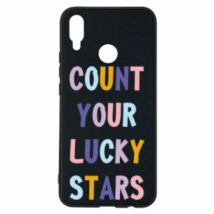 Huawei P Smart Plus Case Count your lucky stars