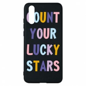 Huawei P20 Case Count your lucky stars