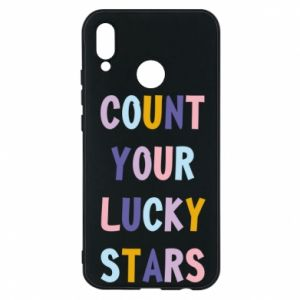 Huawei P20 Lite Case Count your lucky stars