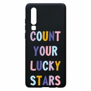 Huawei P30 Case Count your lucky stars