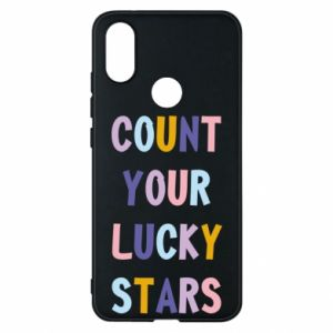 Xiaomi Mi A2 Case Count your lucky stars