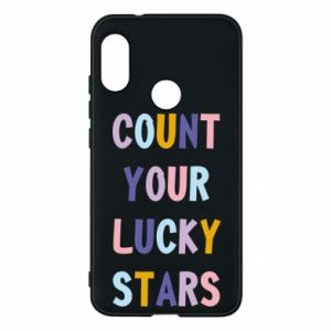 Mi A2 Lite Case Count your lucky stars