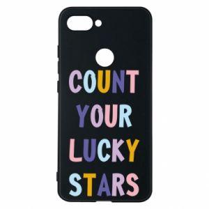 Xiaomi Mi8 Lite Case Count your lucky stars