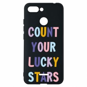 Xiaomi Redmi 6 Case Count your lucky stars