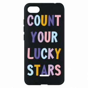 Xiaomi Redmi 6A Case Count your lucky stars