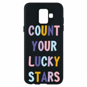 Samsung A6 2018 Case Count your lucky stars