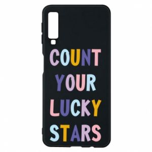Samsung A7 2018 Case Count your lucky stars