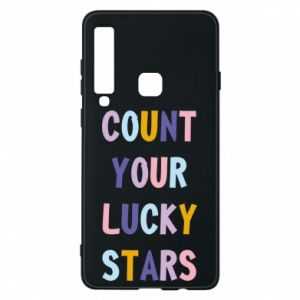 Samsung A9 2018 Case Count your lucky stars
