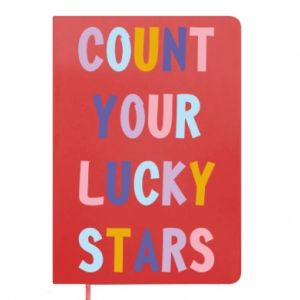 Notepad Count your lucky stars