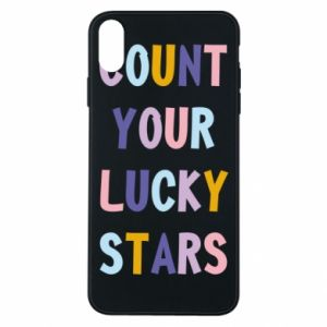 iPhone Xs Max Case Count your lucky stars