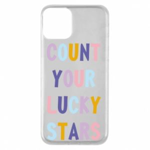 iPhone 11 Case Count your lucky stars