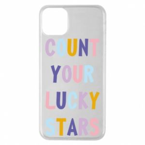 iPhone 11 Pro Max Case Count your lucky stars