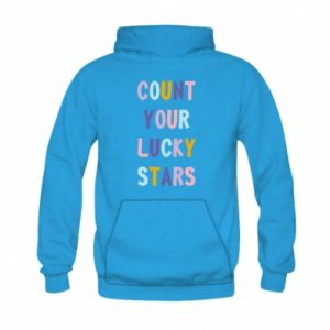 Kid's hoodie Count your lucky stars