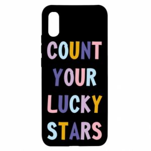 Xiaomi Redmi 9a Case Count your lucky stars