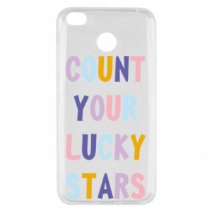 Xiaomi Redmi 4X Case Count your lucky stars
