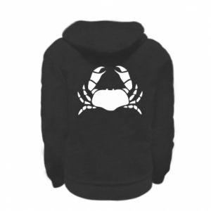 Bluza na zamek dziecięca Crab