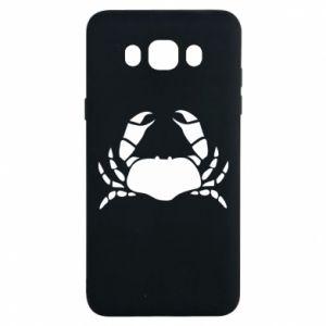 Etui na Samsung J7 2016 Crab