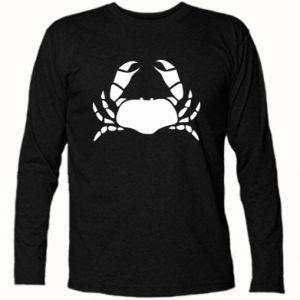 Long Sleeve T-shirt Crab - PrintSalon